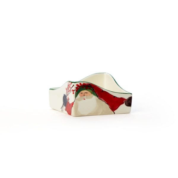 Vietri Old St. Nick Napkin Holder