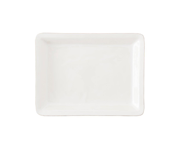 Puro Whitewash 16″ Rectangular Platter
