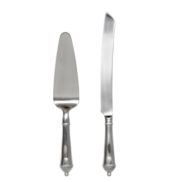 Juliska Berry & Thread Bright Satin Cake Knife/Server Set