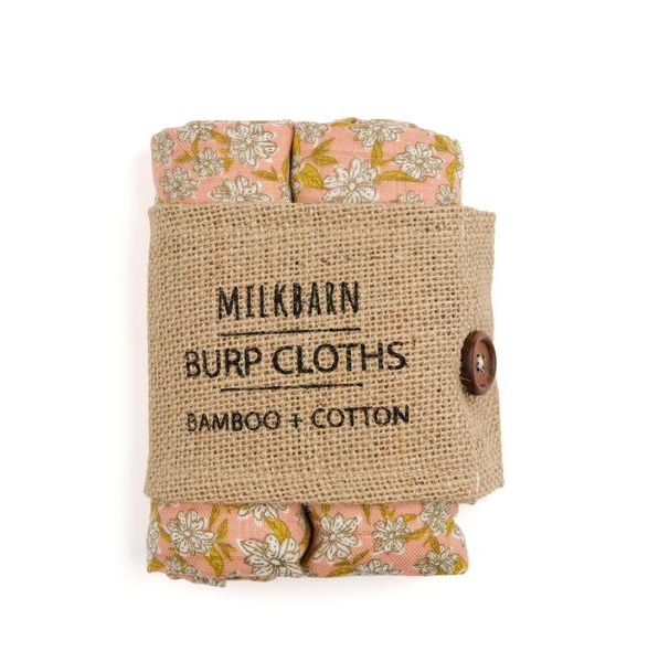 Milkbarn Bamboo Burp Cloths