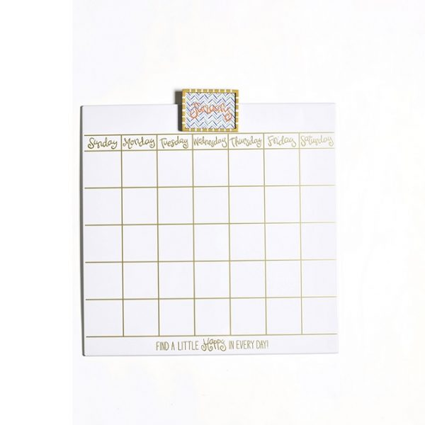 Happy Everything Magnetic Dry Erase 18″ Wall Calendar