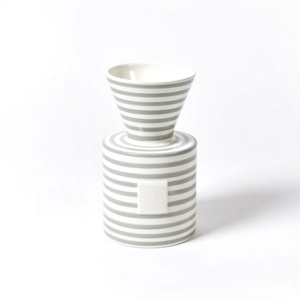 Happy Everything Mini Stone Stripe Vase