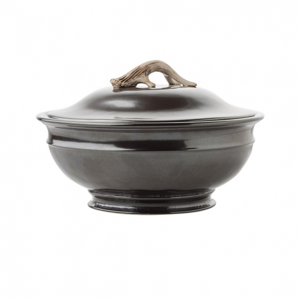 Juliska Forest Pewter Soup Tureen