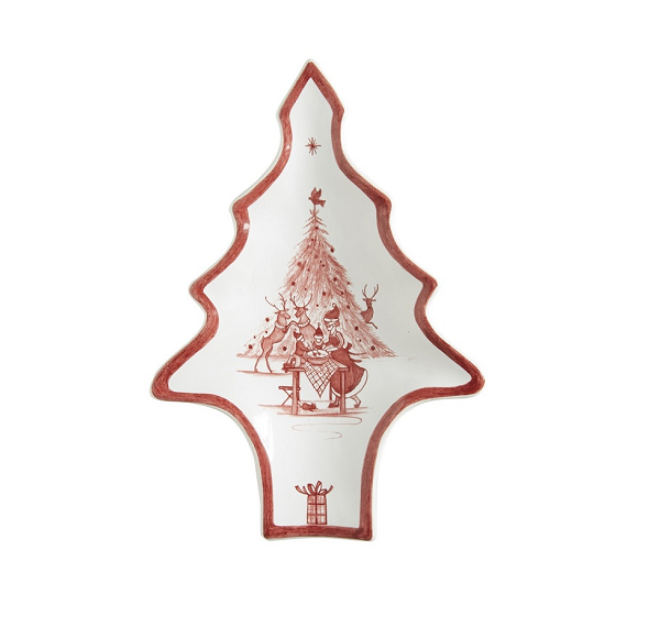 Juliska Country Estate Winter Frolic Ruby Tree Tray