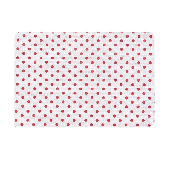 Vietri Old St. Nick Red & White Reversible Placemat