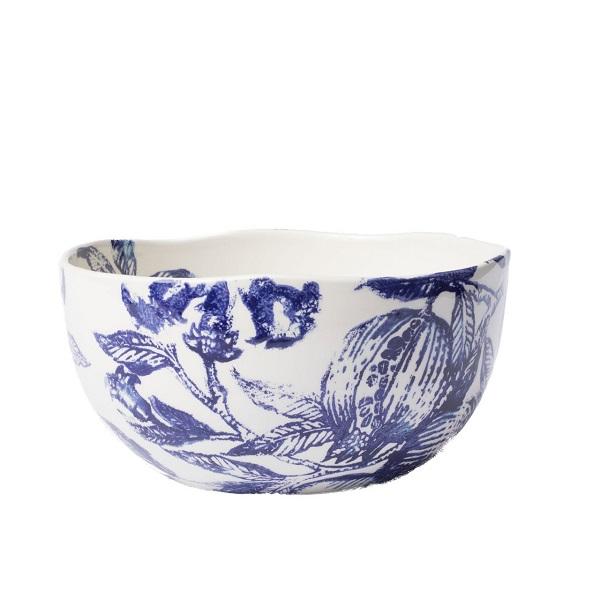 Vietri Melagrana Blu Deep Bowl