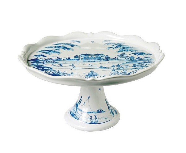 Juliska Country Estate Delft Blue Cake Stand