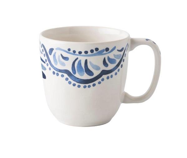 Juliska Iberian Journey Indigo Cofftea Cup