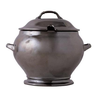 Juliska Large Pewter Soup Tureen