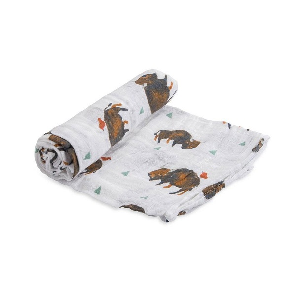 Little Unicorn Bison Single Swaddle