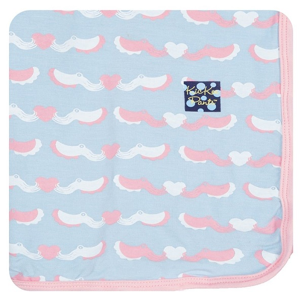 Kickee Pants Cuttlefish Swaddle Blanket