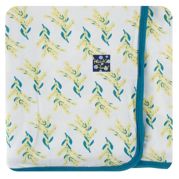 Kickee Pants Golden Wattle Swaddle Blanket