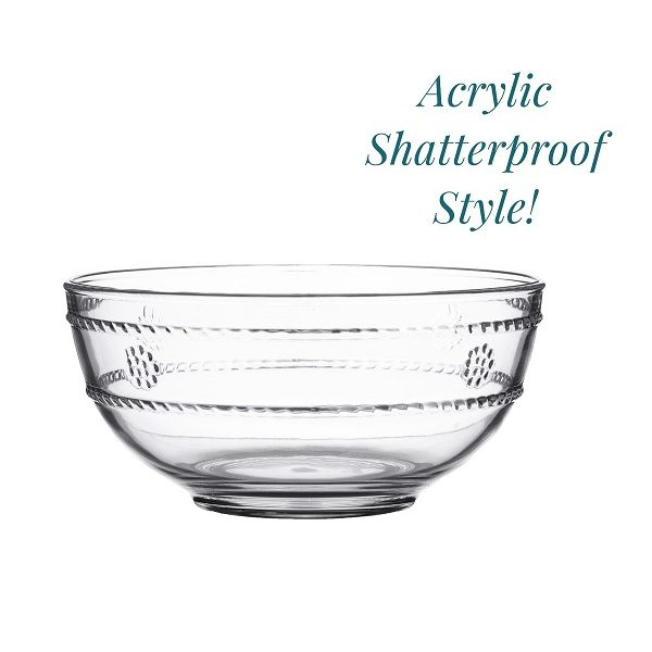 Juliska Isabella Acrylic Berry Bowl