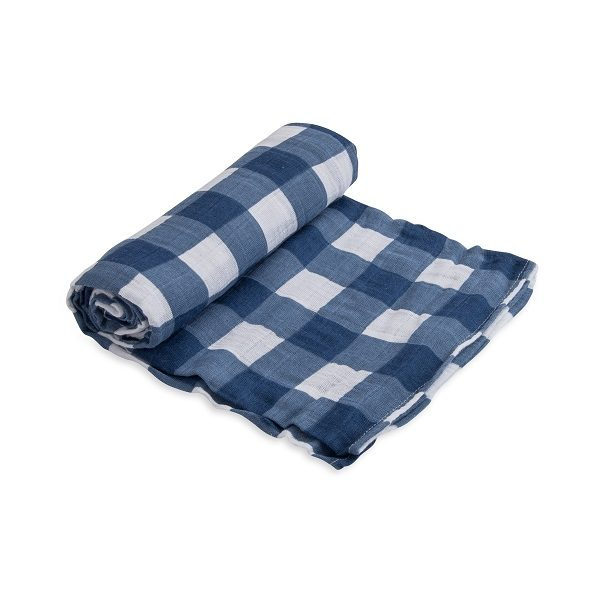 Little Unicorn Jack Plaid Single Swaddle