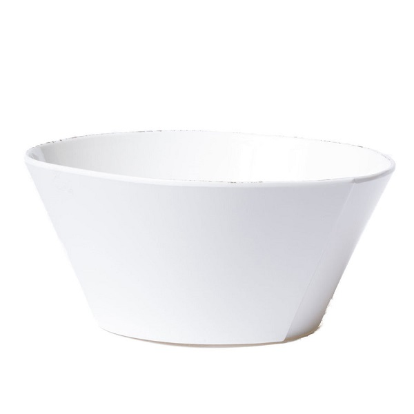Vietri Lastra Melamine Stacking Serving Bowl