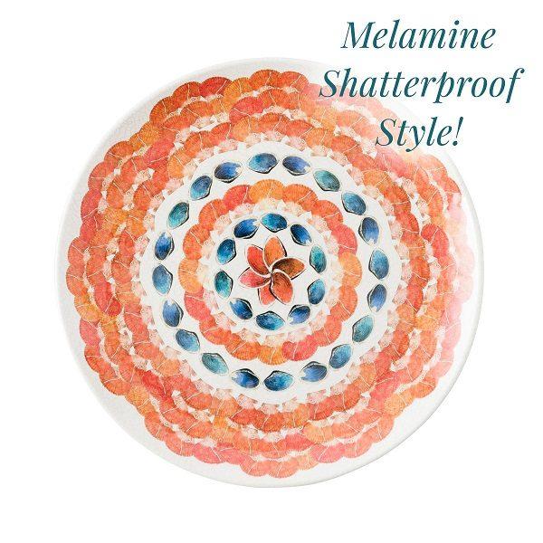 Juliska Oceanica Melamine Dinner Plate