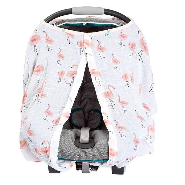 Little Unicorn Pink Ladies Car Seat Canopy