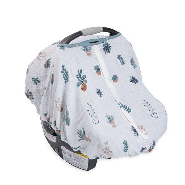 Little Unicorn Prickle Pots Car Seat Canopy