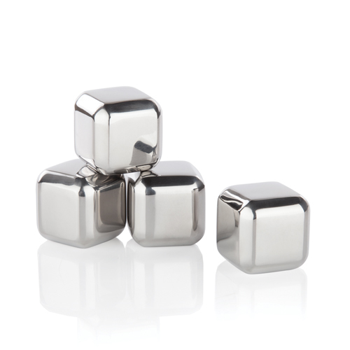 Cork Pops Stainless Steel Ice Cubes