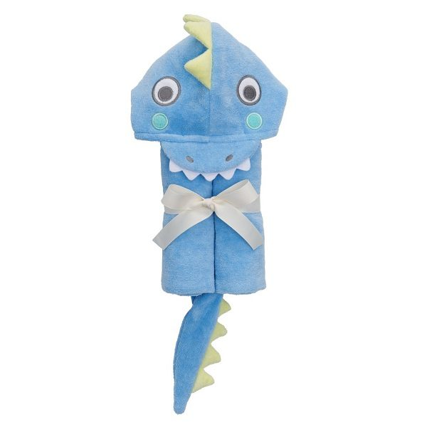 Elegant Baby Blue Sea Serpent Bath Wrap