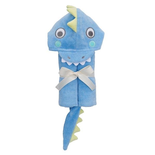 Elegant Baby Blue Sea Serpent Bath Wrap