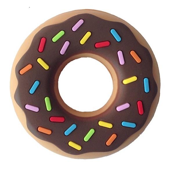 Silli Chews Chocolate Donut Teether