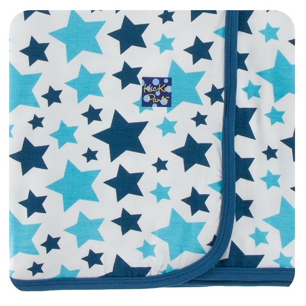 Kickee Pants Confetti Star Swaddle Blanket