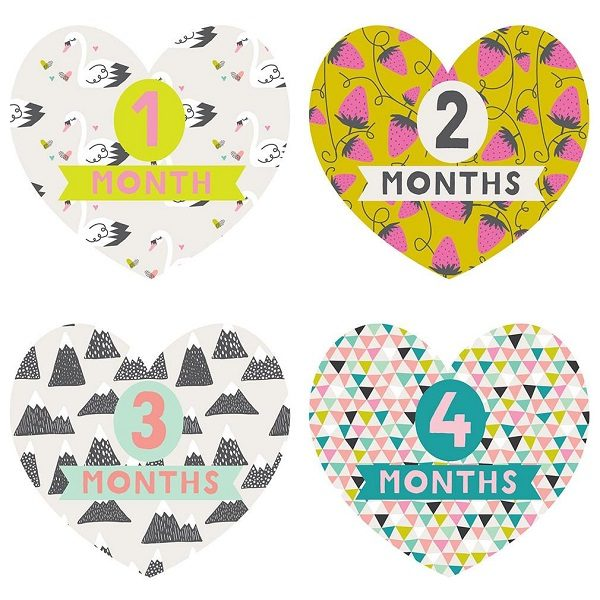 Lucy Darling Little Love Monthly Stickers