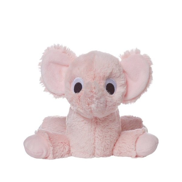 Manhattan Toy Floppies Pink Elephant Stuffed Animal