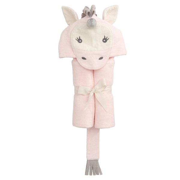 Elegant Baby Unicorn Bath Wrap