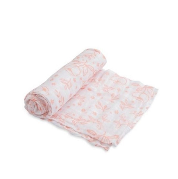 Little Unicorn Garden Rose Single Swaddle