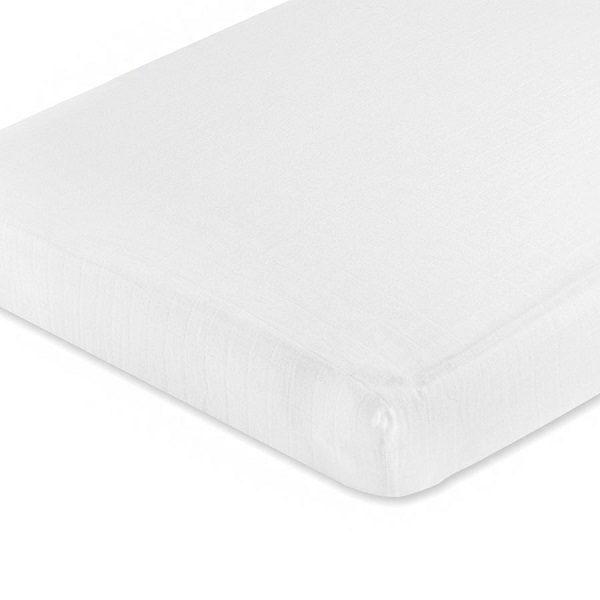 Aden + Anais Classic White Crib Sheet