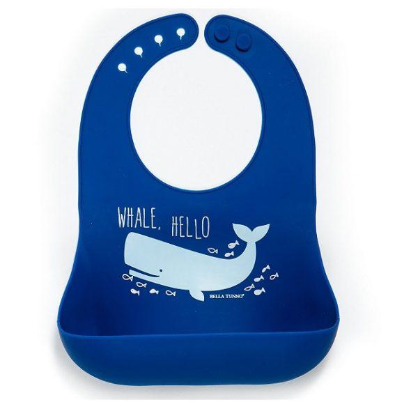 Bella Tunno Whale Hello Wonder Bib