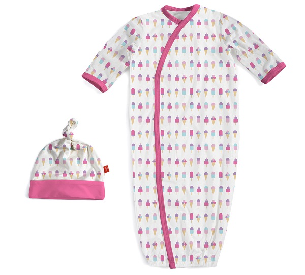 Magnetic Me Ice Cream Gown & Hat Set