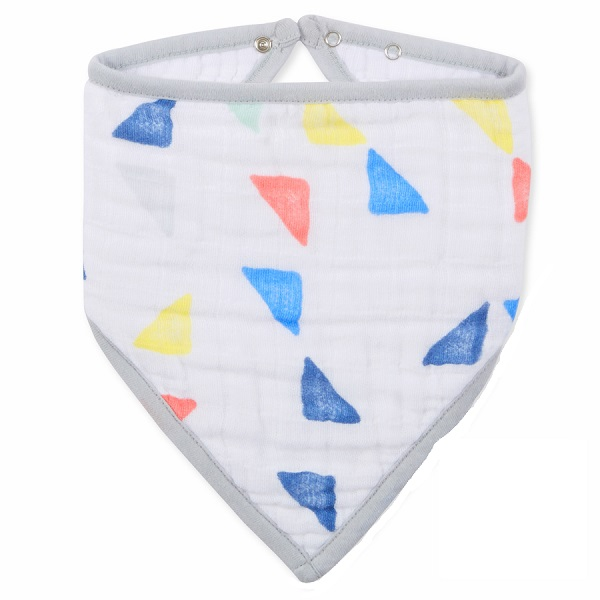 Aden + Anais Leader Of The Pack Triangle Bandana Bib