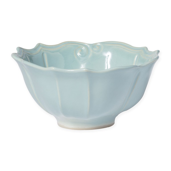 Vietri Incanto Stone Baroque Medium Serving Bowl
