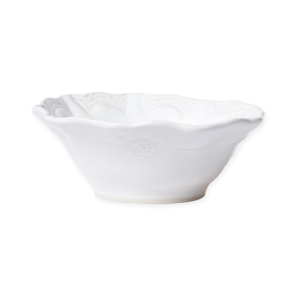 Vietri Incanto Stone Lace Cereal Bowl