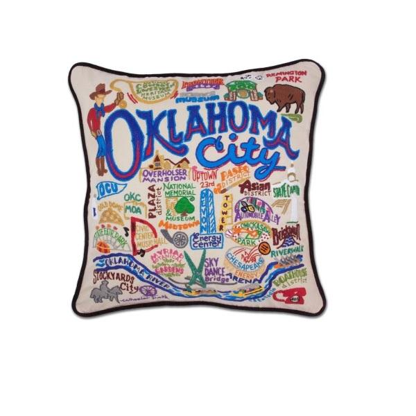 Catstudio Oklahoma City Pillow