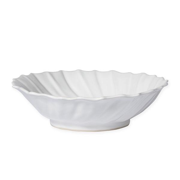 Vietri Incanto Stone Ruffle Large Bowl