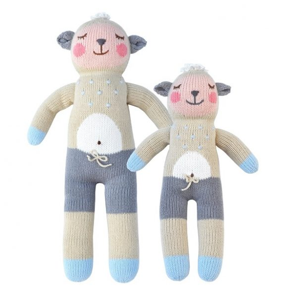 Bla Bla Wooly The Sheep Knit Doll
