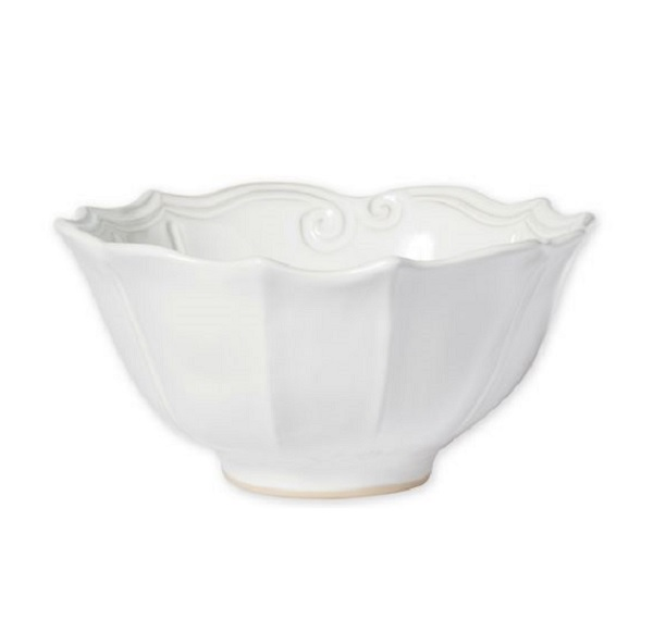 Vietri Incanto Stone Baroque Serving Bowl
