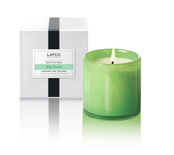 Lafco Mint Tisane Meditation Room Candle