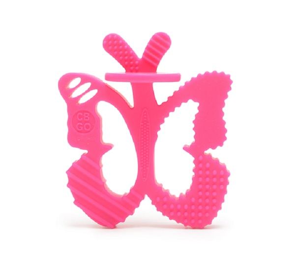 Chewbeads Chewpals Butterfly Teether