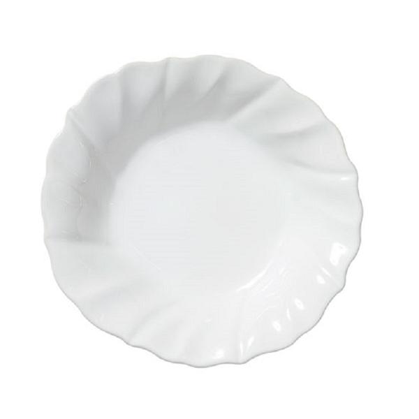 Vietri Incanto Stone Ruffle Pasta Bowl