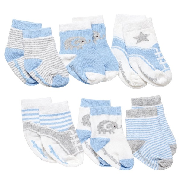 Elegant Baby Cutie Blues Sock Set