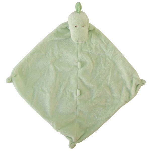 Angel Dear Green Dino Blankie