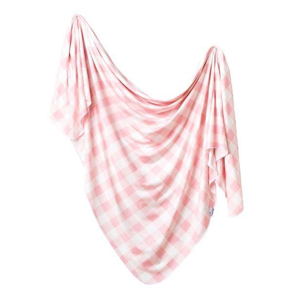 Copper Pearl London Knit Swaddle Blanket