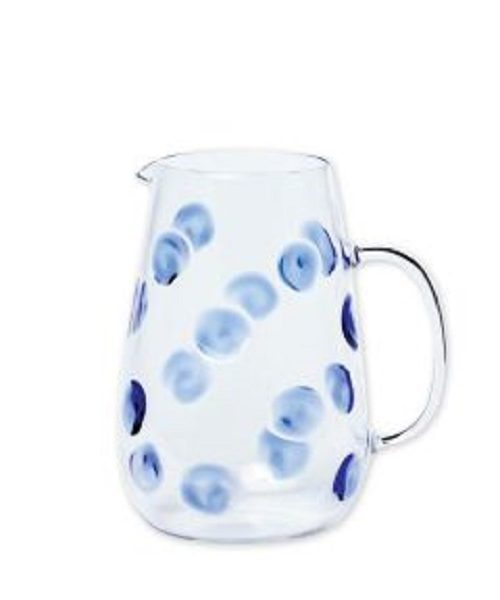 Vietri Drop Pitcher – Blue Dot