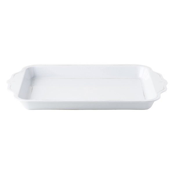 Berry & Thread Melamine 24″ Handled Tray