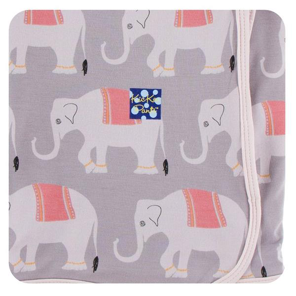 Kickee Pants Feather Indian Elephant Swaddle